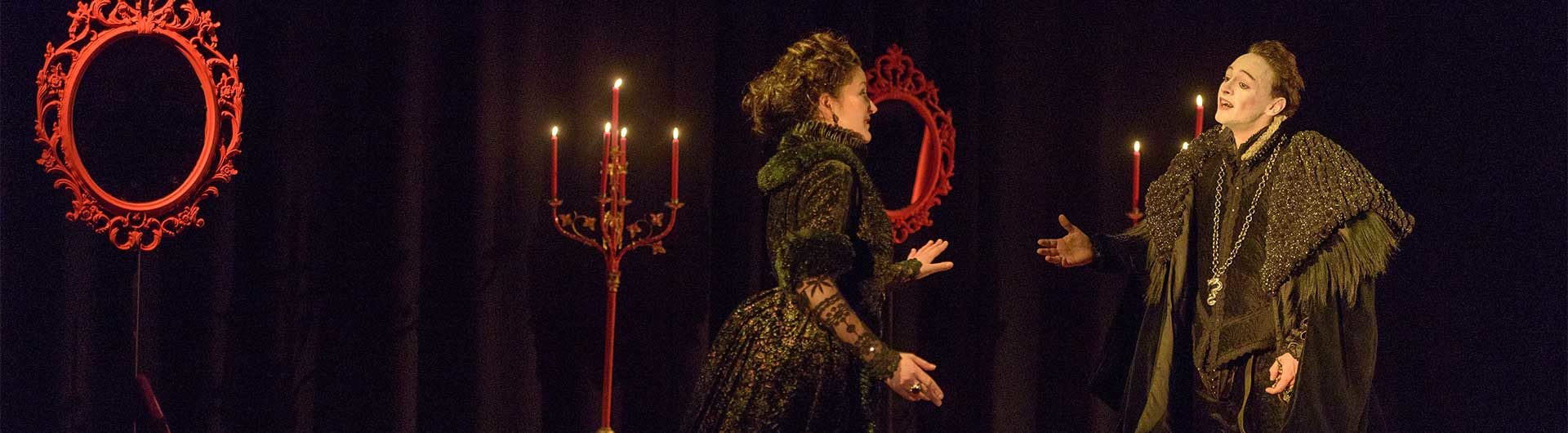 2018 production of Rodelinda, Cambridge Handel Opera Company © Jean-Luc Benazet 2018